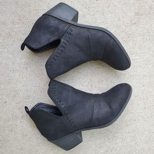 Black Ankle Boots Rock & Candy Lipton 7.5